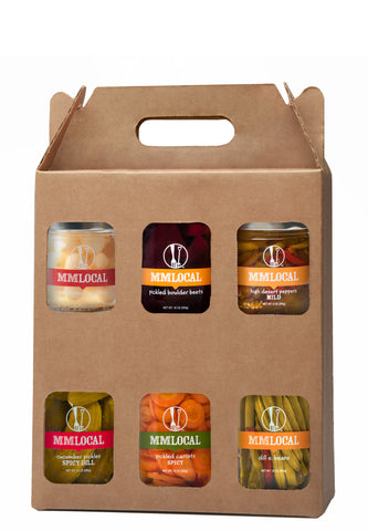 The Pickler 6-Pack Gift Box