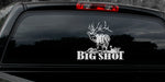 "BULL ELK Decal Titled ""Big Shot"" by Upstream Images"