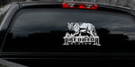 "COYOTE DECAL Titled ""Predator Slayer"" By Upstream Images"