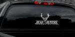 "MULE DEER DECAL Titled ""Head Hunter"" By Upstream Images"