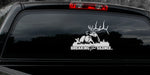 "BULL ELK DECAL Titled ""Breaking the SilenceBy Upstream Images -"