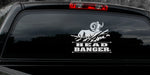 "BIG HORN SHEE DECAL Titled ""Head Banger"" By Upstream Images"