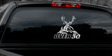 "MULE DEER DECAL Titled ""Over 30"" By Upstream Images"