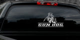 "LAB HUNTING DECAL Titled ""Gun Dog"" By Upstream Images"
