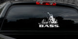 NICE BASS FISHING DECAL By Upstream Images