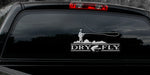 DRY FLY FLY-FISHING DECAL By Upstream Images
