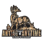 Whitetail Kings Camo Decal by Upstream Images