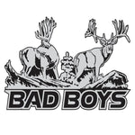 "MULE DEER DECAL Titled ""Bad Boys"" by Upstream Images"