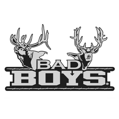 BAD BOYS ELK-DEER DECAL by Upstream Images