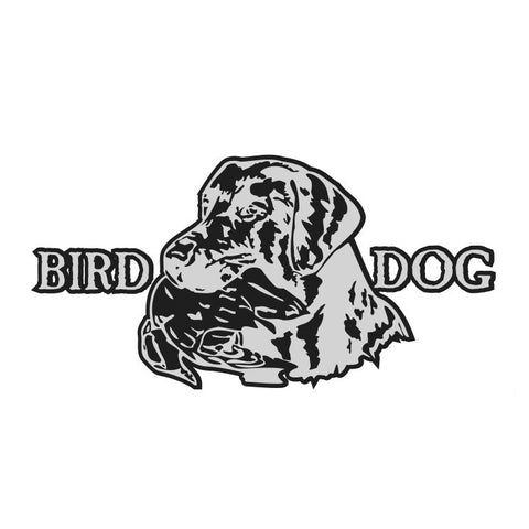 BIRD DOG LAB DECAL By Upstream Images