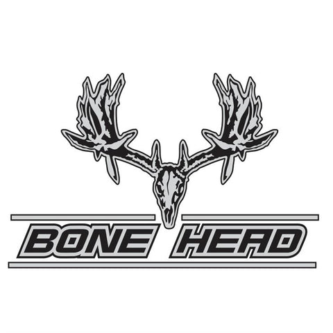 BONE HEAD WHITETAIL DECAL By Upstream Images