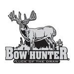 BOW HUNTER WHITETAIL DECAL By Upstream Images