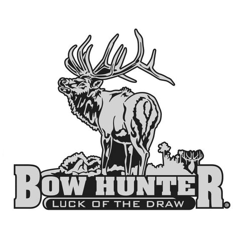 "BULL ELK DECAL Titled ""Bow Hunter"" By Upstream Images"