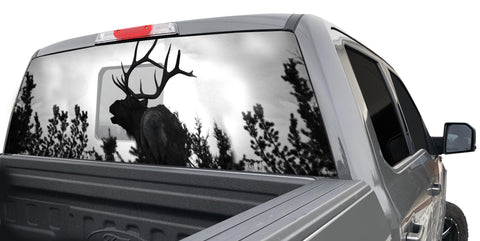 BULL ELK2 WINDOW GRAPHIC
