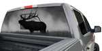 BULL ELK WINDOW GRAPHIC