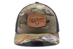 CAMO/BLACK UPSTREAM HAT