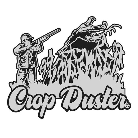 "PHEASANT HUNTING DECAL Titled ""Crop Duster"" By Upstream Images"