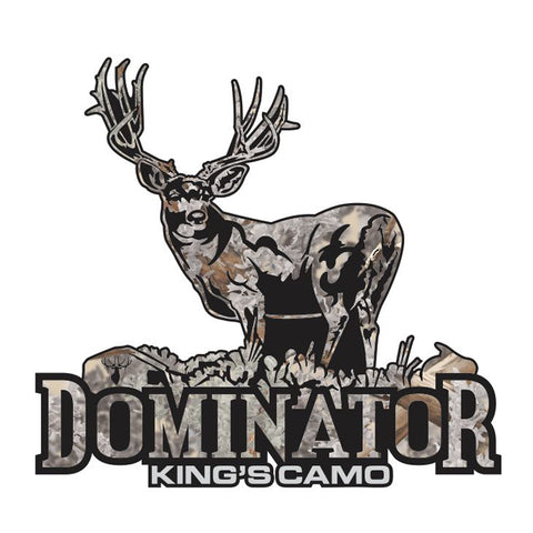 "MULE DEER DECAL Titled ""Dominator"" By Upstream Images"