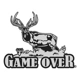 GAME OVER ELK DECAL