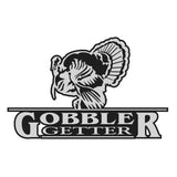 "TURKEY DECAL Titled ""GOBBLER GETTER"" By Upstream Images"