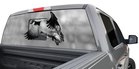 GOOSE WINDOW GRAPHIC