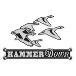 "GEESE DECAL Titled ""HAMMER DOWN"" By Upstream Images"