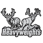 "MULE DEER DECAL Titled ""Heavyweights"" By Upstream Images"