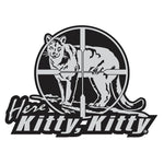 "MOUNTAIN LION DECAL Titled ""Here Kitty Kitty"" By Upstream Images"