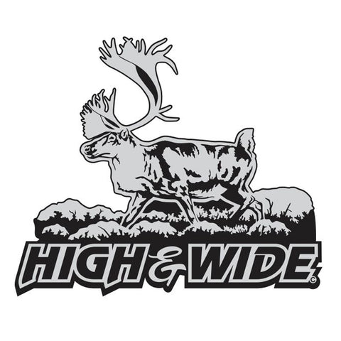 "CARABOU DECAL Titled ""High and Wide"" By Upstream Images"