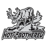 HOT AND BOTHERED WHITETAIL DECAL
