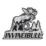"BULL MOOSE DECAL Titled ""INVINCIBULL"" By Upstream Images"