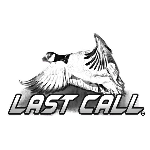 "GOOSE HUNTING DECAL Tiled ""Last Call"" By Upstream Images"