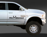 Upstream's Truck Decal - Muley Obsessed
