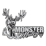 "MULE DEER DECAL Titled ""Monster Muley"" By Upstream Images"