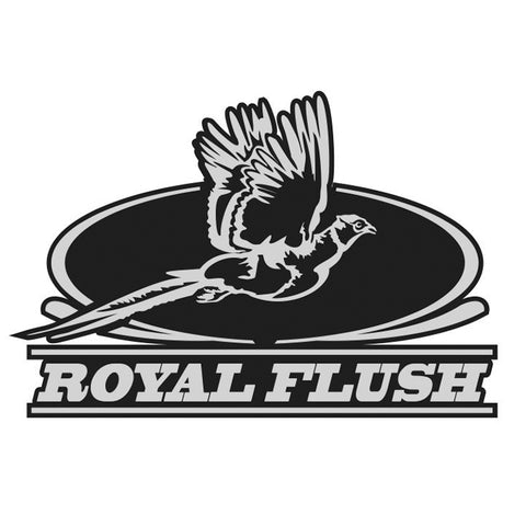 "PHEASANT HUNTING DECAL Titled ""ROYAL FLUSH"" By Upstream Images"