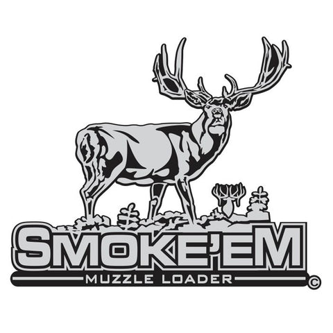 "MULE DEER DECAL Titled ""Smoke'em"" By Upstream Images"