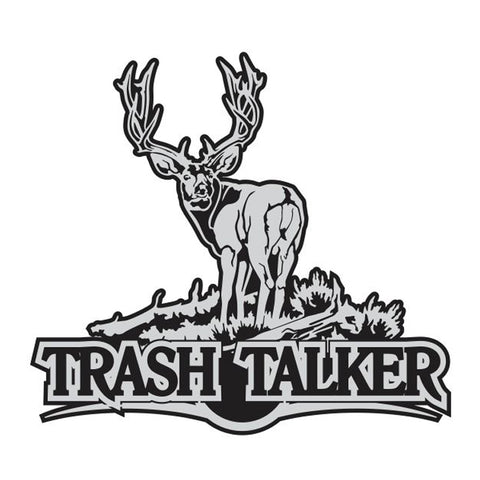 TRASH TALKER DEER DECAL