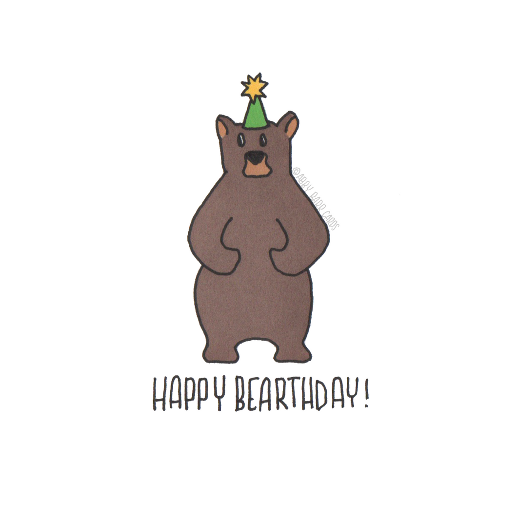 happy bearthday