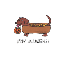 Load image into Gallery viewer, happy halloweenie