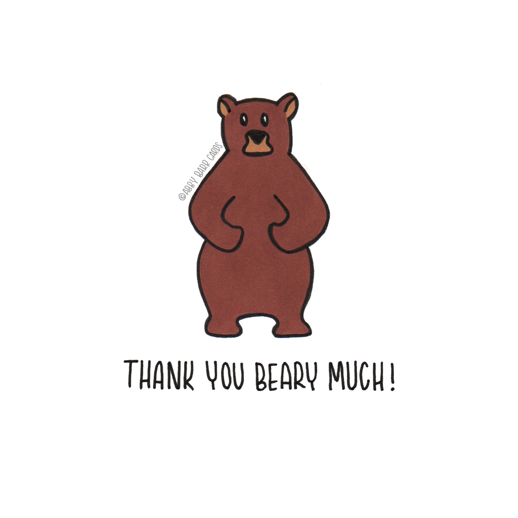 thank you beary much
