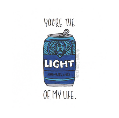 you're the light of my life