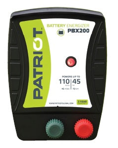 Patriot Battery / DC Powered Electric Fence Chargers