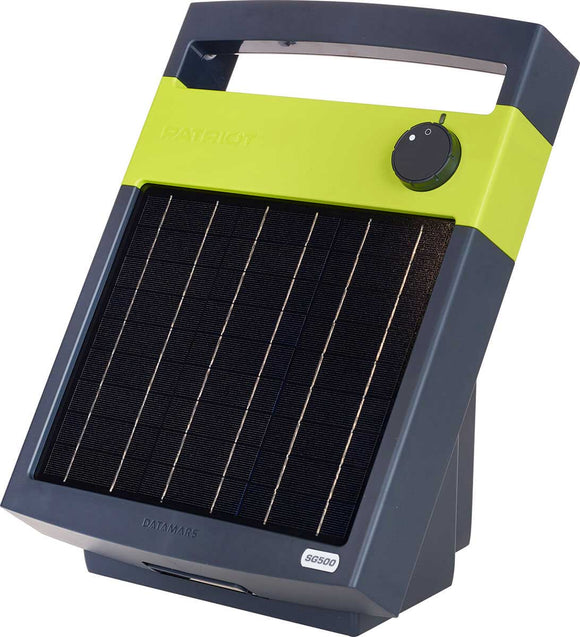 Patriot Solar Powered Electric Fence Chargers