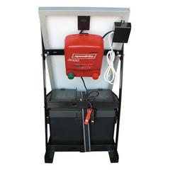 SPEEDRITE 3000 SOLAR POWERED ENERGIZER SYSTEM | 3 JOULE | FREE U.S.A. SHIPPING AND FENCE TESTER - Speedritechargers.com