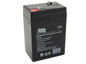 4 Volt replacement battery for the Patriot PS5 Energizer.