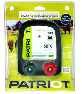 PATRIOT PE 5B 12V DC BATTERY POWERED FENCE CHARGER, 5 MILE / 20 ACRE | FREE SHIPPING - Speedritechargers.com