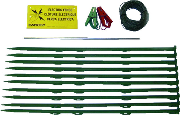 824168 Patriot Pet and garden electric fence accessory kit