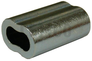 100, 12.5 Ga Crimp Sleeves - Speedritechargers.com
