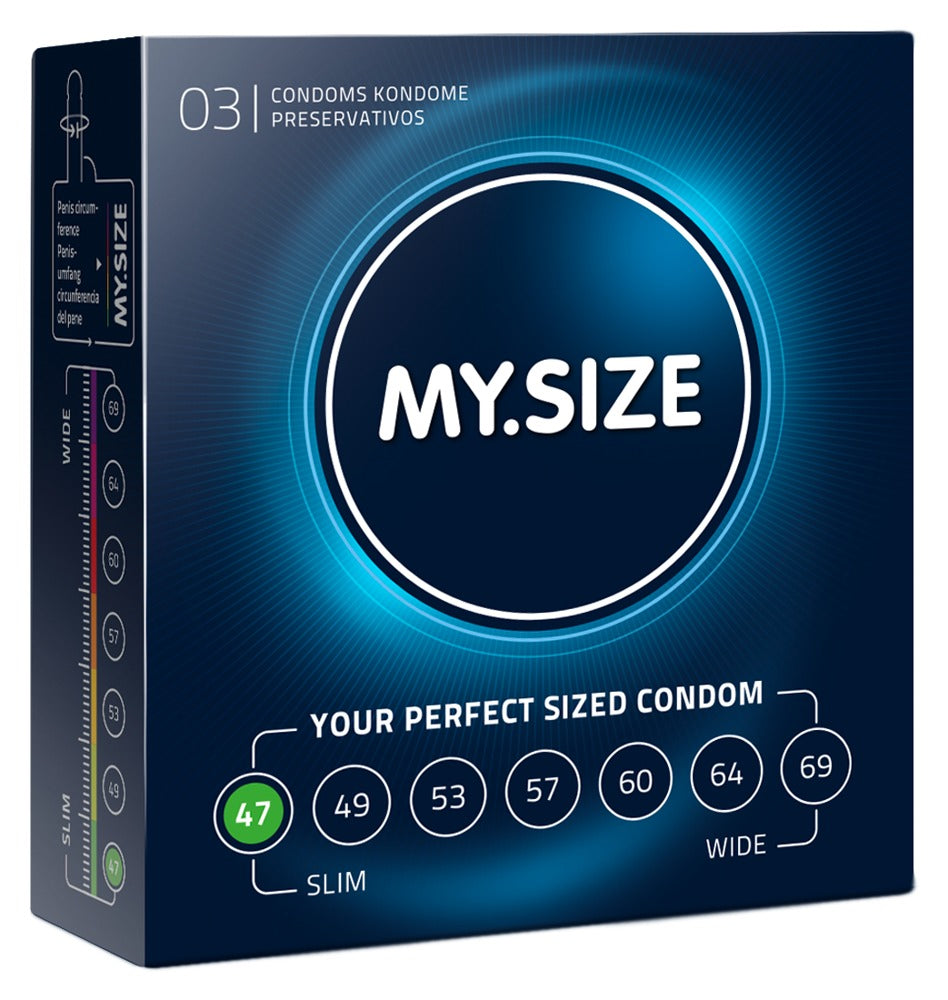 MySize 3er Pack - 47mm