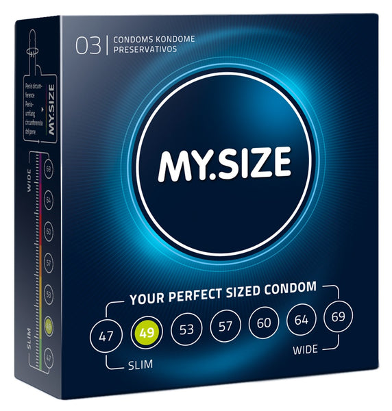 MySize 3er Pack - 49mm